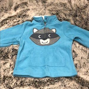 Carter's baby boy fleece pullover NWT